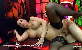 Brunette Babe Jolee Love Bukkake Gangbang - German Goo Girls