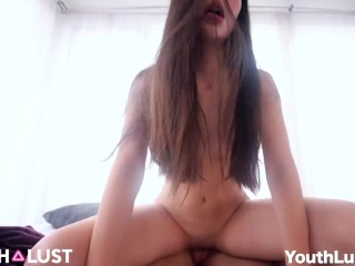 pretty Mexican First GangBang YouthLust Zoey